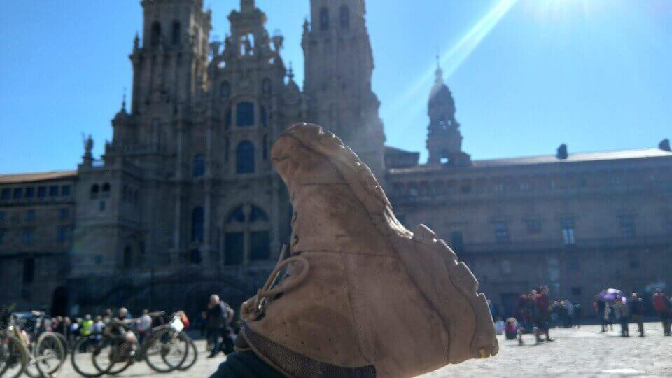 Boot shot Santiago