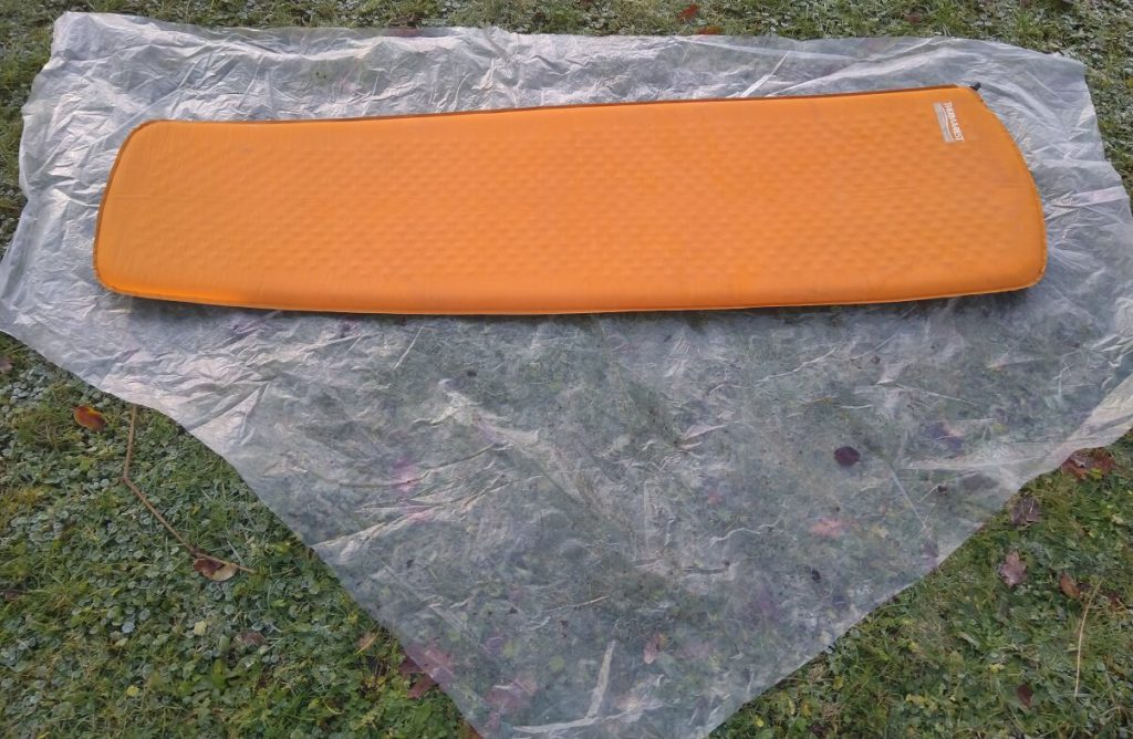 thermarest-on-ground-sheet